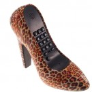 Telefone Sapato Estampa Onça