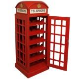 Adega em Forma de Cabine Telefônica Londres