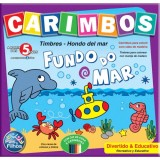 Jogo de Carimbos Fundo do Mar