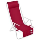 Cadeira Reclinável Tropical com Travesseiro
