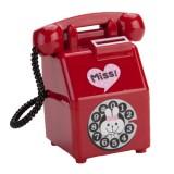 Cofre em Cerâmica Telefone Vermelho
