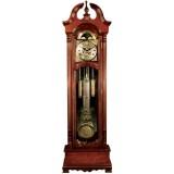 Relógio com Pedestal Suiça em Madeira