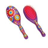 Escova de Cabelo Flowers
