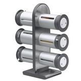 Porta Condimentos Magnético 6 Potes