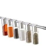 Porta Tempero e Condimentos em Vidro Sistema Barra
